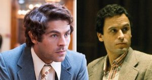 Zac Efron and Ted Bundy